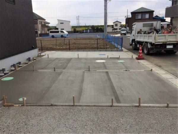 野田市 コンクリート土間工事